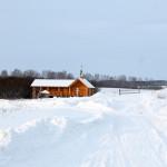 Источник в зимнее время