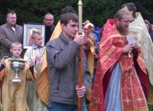 Крестный ход в память о новомучениках.