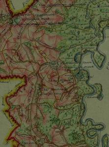 Бортсурманы на межевой карте Курмышского уезда 1808 года