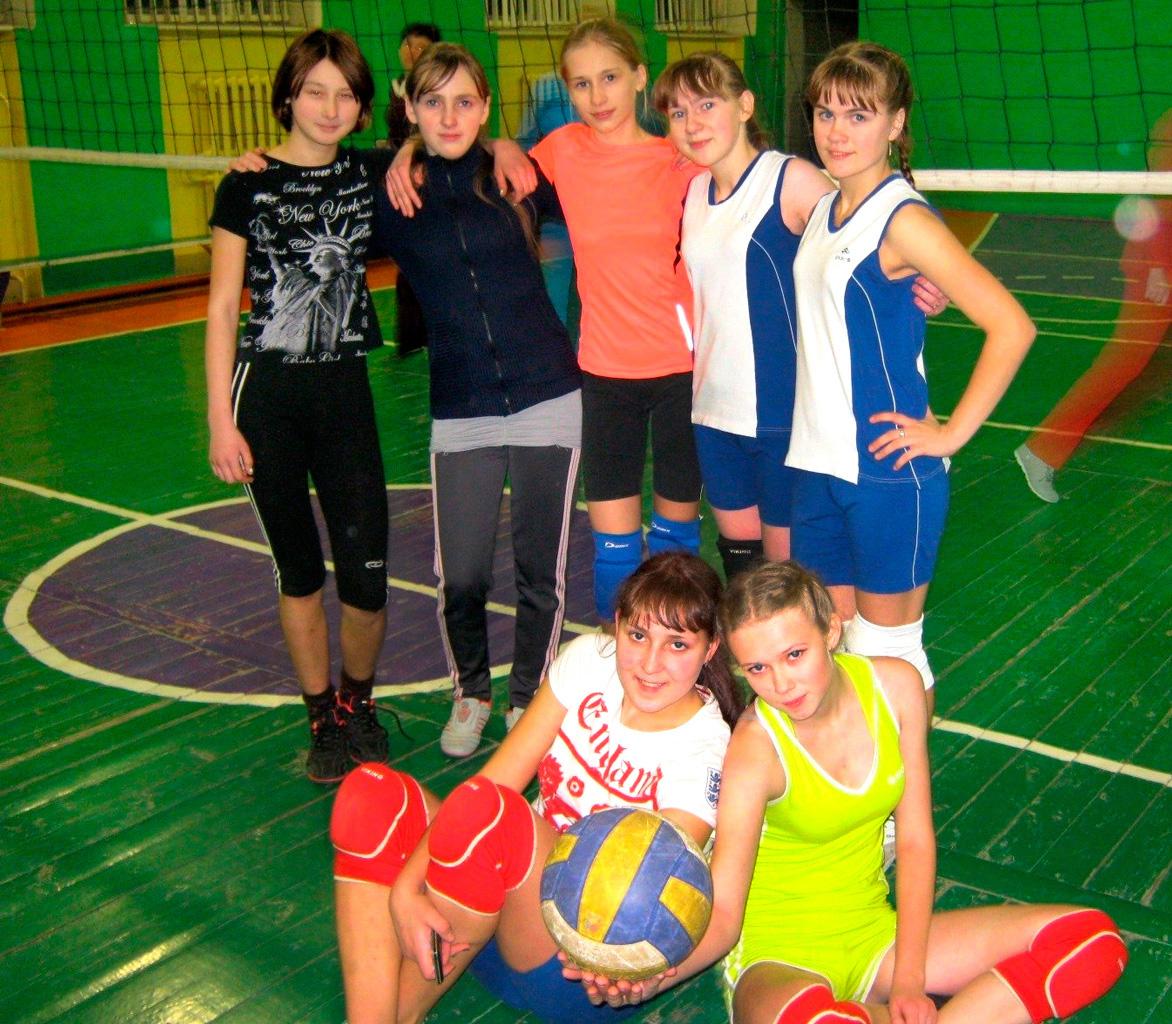 Команда по волейболу